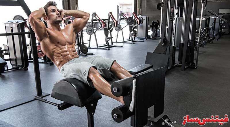 حرکت شکم - فیتنس ساز